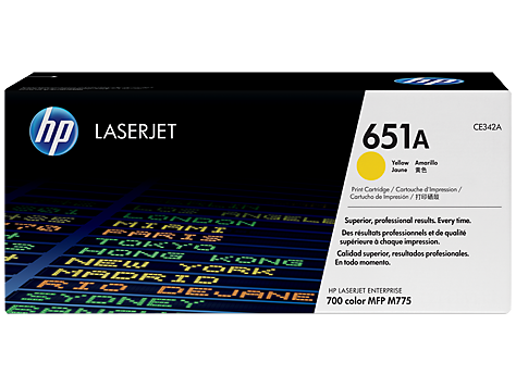 HP        Toner-Modul 651A        yellow