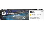 HP        Tintenpatrone 981A      yellow