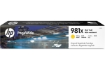 HP        Tintenpatrone 981X      yellow